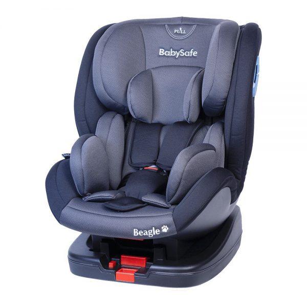 BabySafe Beagle Szaro-czarny