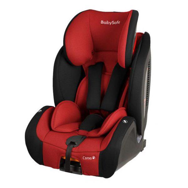 BabySafe Corso Czarno-czerwony