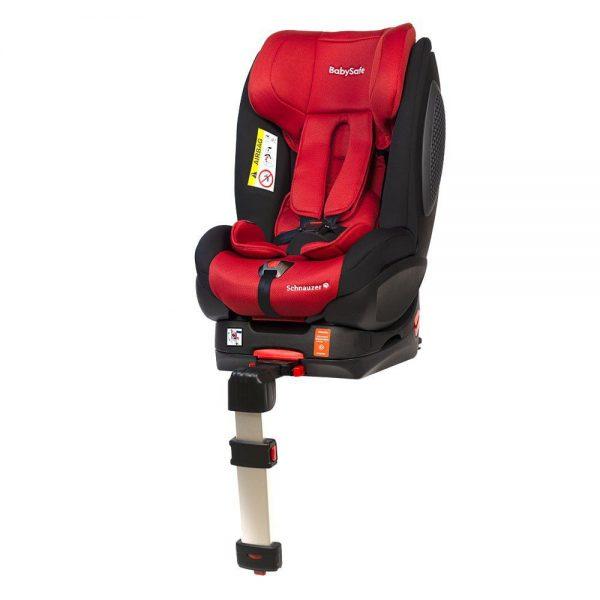 BabySafe Schnauzer Czerwono-czarny