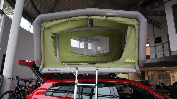 GT Mini wnętrze namiotu dachowego