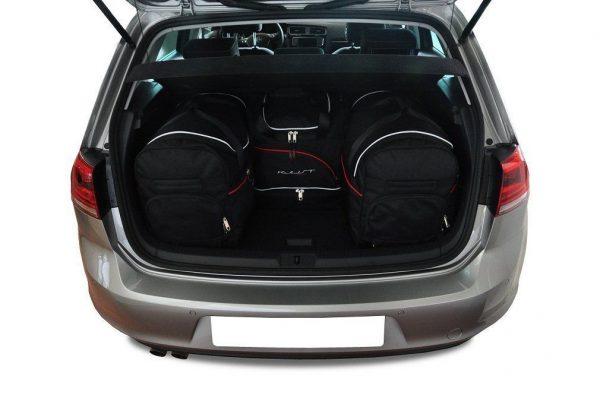 Torby samochodowe VW GOLF 7 HATCHBACK 2012-2020 Kjust 7043005