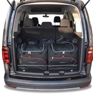 Zestaw toreb do bagażnika – VW CADDY IV 2015+ | Sportowy