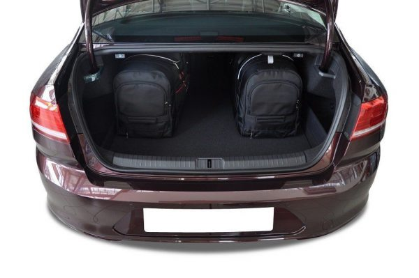 VW PASSAT B8 LIMOUSINE 2014+ TORBY DO BAGAZNIKA 2 SZT 7043009