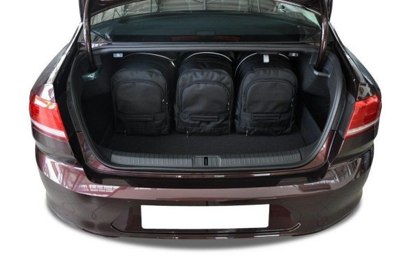 VW PASSAT B8 LIMOUSINE 2014+ TORBY DO BAGAZNIKA 3 SZT 7043009
