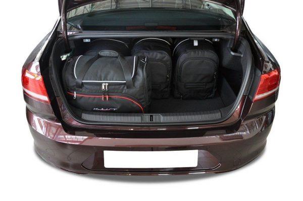VW PASSAT B8 LIMOUSINE 2014+ TORBY DO BAGAZNIKA 4 SZT 7043009