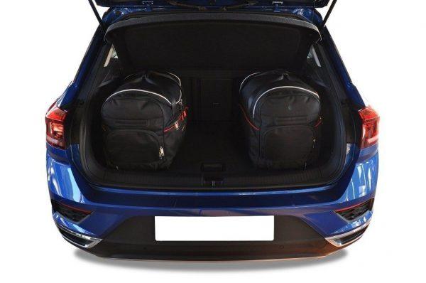 VW T-ROC 2017+ TORBY DO BAGAZNIKA KJUST 7043002