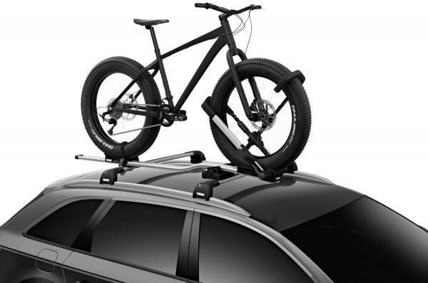 bagażnik uchwyt rowerowy na dach Thule UpRide 599 również do rowerów typu fatbike